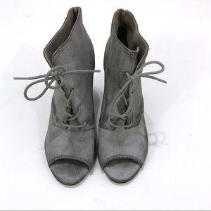 ASOS Gray Booties